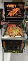 Comet Pinball Machine Williams 1985 Coin Op Carnival themed