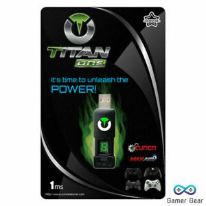 Titan One Games Console Controller Adapter PS5, PS4, Xbox One, Xbox Series X/S