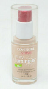 Covergirl Outlast Stay Luminous Natural Glow Foundation 810 Classic Ivory