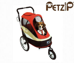 Pet Zip Bicycle Pet Trailer Stroller S980, Blue