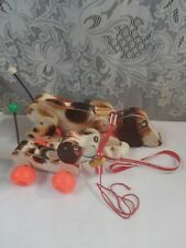 Vintage Fisher Price Wooden Pull Toys 1961 Snoopy 1965 Little Snoopy