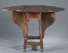 William and Mary butterfly drop leaf table. Lot 10