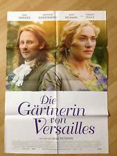 Filmposter * Kinoplakat * A1 * Die Gärtnerin von Versailles * 2015 *Kate Winslet