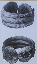 Bronze Rings/Armlets from Early Iron Age of Britain, Magic Lantern Glass Slide