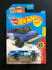 2016 Hot Wheels CRUISE BRUISER BLUE FIRST EDITION FE HW DAREDEVILS NEW VHTF!