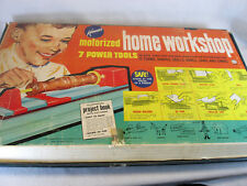 Vintage 1962 Kenner's Motorized Home Workshop play set no. 1010