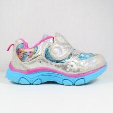 Disney Frozen Sneakers In Silver/Blue/Pink Size 9 (Toddler)
