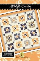 """All Hallow's Eve Qlt Kit/Midnight Crossing Quilt Kit by Fig Tree Quilts, 69""""x69"""""""