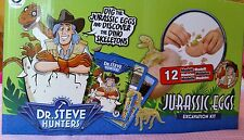 Geoworld Dr. Steve Hunters Jurassic Egg Excavation Kit lot of 4 Blind Bags New