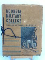 1934 Georgia Military Academy College Milledgeville, GA 56th Annual Annoucement