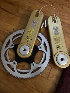 Powercranks Crankset 170/177.5 Square Taper 54/44