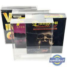 PC Game Big BOX PROTECTORS Amiga Strong 0.5mm PLASTIC DISPLAY CASE (Type 4) x 2