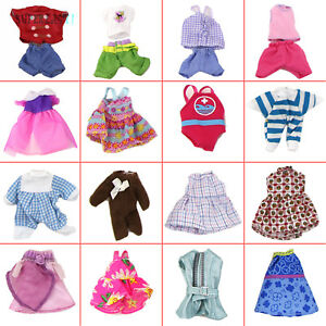 5 Random Lovely Outfit Dress Skirt Pants Clothing Clothes for Kelly 4 Inch Doll