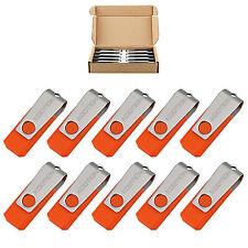 10pcs/lot 2GB Rotating USB 2.0 Flash Drive Swivel Memory Stick Pen Drive U Disk