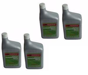 For Honda Acura Set of 4 Bottles-Quarts Manuel Transmission Fluid MTF Genuine