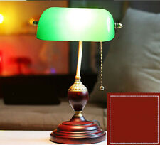 * New Vintage Green  Lighting E27 Table Lamp Bedroom Bedside Lamp Study Light