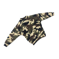 1/6 Scale Action Figure Camouflage Sweatshirt Clothes Set Accessories