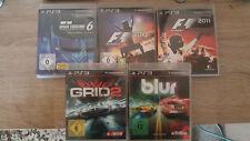 5 Playstadion 3 Spiele - Rennspiele Pack