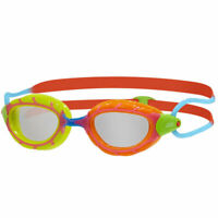 Zoggs Predator Junior 6-14 Years Swim Goggles Yellow/Orange