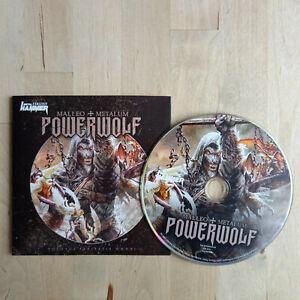 POWERWOLF / Malleo + Metalum / 2021 Metal Hammer CD / NEU + unbespielt