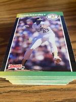 (100) 1989 Donruss Dennis Eckersley #67 Oakland Athletics NR-MT+ Recent Breaks