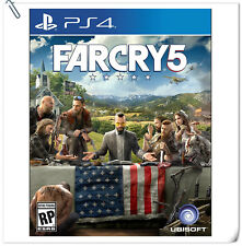 PS4 FAR CRY 5 FARCRY SONY PlayStatio​n Ubisoft Action Games