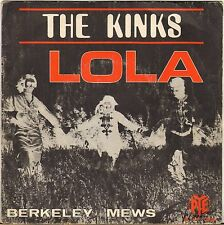 "THE KINKS ""LOLA"" FRENCH 60'S 7' PYE 15336"