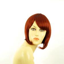Parrucca donna corta rame intenso: CAROLE 350