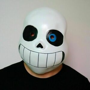 Kid Adult Undertale Mask Legend Under Cosplay Sans Mask Halloween Headset Game