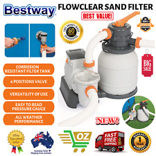 Bestway 2000gph Flowclear Sand Filter Swimming Above Ground Pool Cleaning Pump