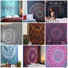Mandala Tapisserie Wandbehang Wandteppich Deko Hippie Picknick Boho Bedding
