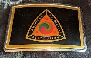 Vintage 1970s American MOTORCYCLE Association AMA  Belt Buckle
