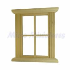 Dolls House Four Pane Window Frame 1/12th Scale (00523)
