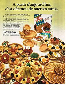 PUBLICITE  1970   TART'EXPRESS   pate à tarte