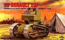 RENAULT TSF - WW I FT 17 COMMAND TANK (FRENCH & SPANISH MKGS)#72209  1/72 RPM