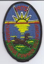 OA (BSA) Croatan Lodge #117 - 1975 Summer Fellowship Patch