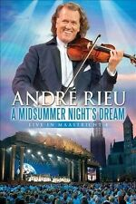 ANDRE RIEU-A MIDSUMMER NIGHT'S DREAM-LIVE IN MAASTRICHT 4-DVD-AUSTRALIA-0 REGION