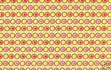 Amy Butler Midwest Modern 2 Happy Dots in Linen Fabric