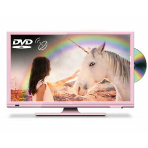 """Cello Pink 20"""" HD Ready LED TV with Freeview and Satellite Tuner + DVD"""