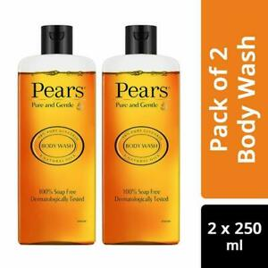 Pears Pure And Gentle Body Wash, 250ml x 2, Pack of 2