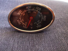 100-700℉ Oval~BBQ Pit Smoker Grill Thermometer Temp Gauge