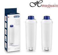 2 x Genuine Delonghi SER3017 Espresso Coffee Machine Water Filters DLS C002