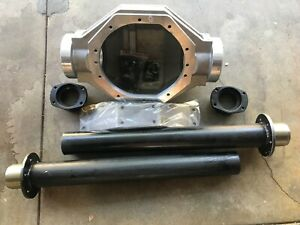 "FORD 9"" INCH 6 BOLT REAR END ALUMINUM HOUSING STEEL LEGS & BIG BEARING ENDS"