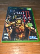 THE HOUSE of the DEAD III Original XBOX console system game COMPLETE Tested VGC