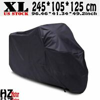XL Motorcycle Waterproof Dust Cover Outdoor for Honda Scooter Sports Bike