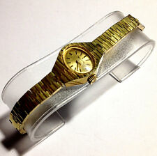Vintage EDOX Swiss Made Gold Plated Manual Wind Up Watch