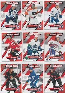 "2021 Upper Deck  NHL National Hockey Card Day (Canada) Complete ""17 Card Set """