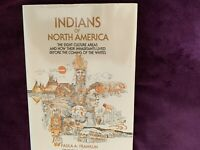 Indians of North America by Paula A. Franklin 1979 edition hard cover book w DJ