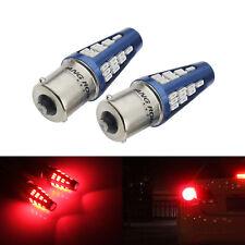 2x 5W Rot SMD LED Rücklicht Blinker Rück-Signallicht Rückfahrlicht Birne 12-24V