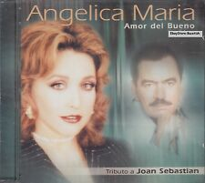 Angelica Maria Amor Del Bueno Tributo A Joan Sebastian CD New Sealed